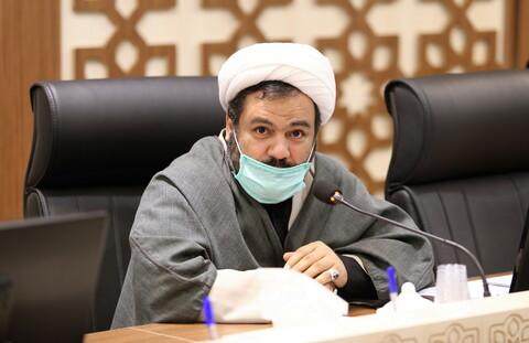 تصاویر/ جلسه شورای پایگاه بسیج شهدای روحانی مرکز مدیریت حوزه های علمیه