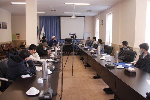 دوره آموزشی اصول و مبانی خبرنویسی طلاب حوزه علمیه قزوین