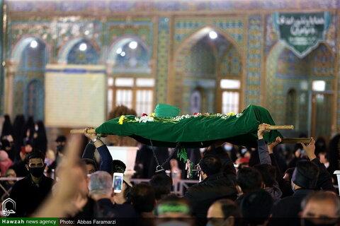 بالصور/ حرم السيدة فاطمة المعصومة عليها السلام في ذكرى استشهاد أبيها الإمام باب الحوائج موسى بن جعفر (ع)