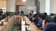 تصاویر| اختتامیه اولین دوره آموزشی اصول و مبانی خبرنویسی طلاب هرمزگان