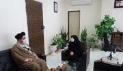 بررسی زمینه های همکاری مرکز خدمات و اداره کل بهزیستی آذربایجان شرقی