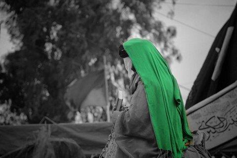 تشییع نمادین و عزاداری شهادت امام موسی کاظم(ع) در کاظمین