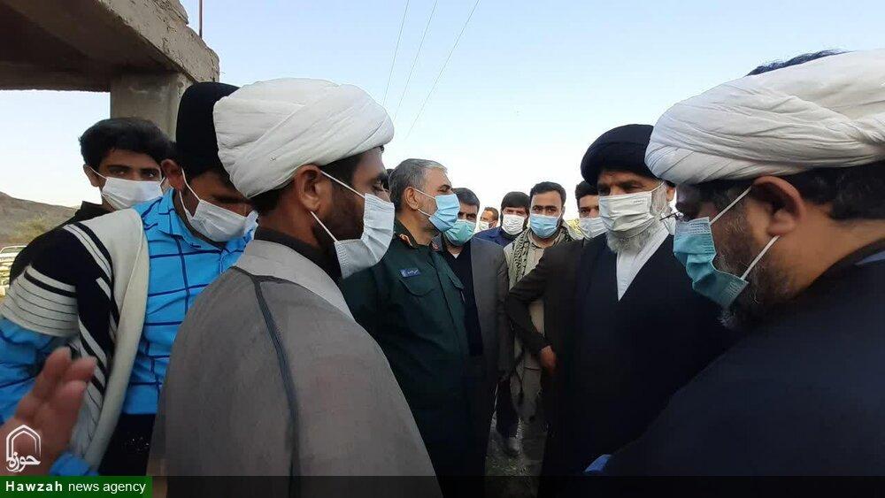 تصاویر/ سفر یک روزه نماینده ولی فقیه در خوزستان به شهرستان لالی