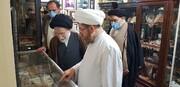 بازدید آیت الله شفیعی از مدرسه علمیه و موزه آیت الله انصاری اهواز + عکس