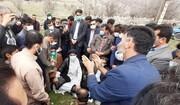 بازدید نماینده ولی فقیه در خوزستان از روستاهای صعبالعبور دهستان احمد فداله + عکس