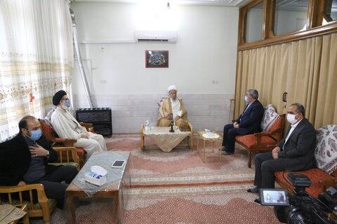 دیدار وزیر کشور با مراجع و علما