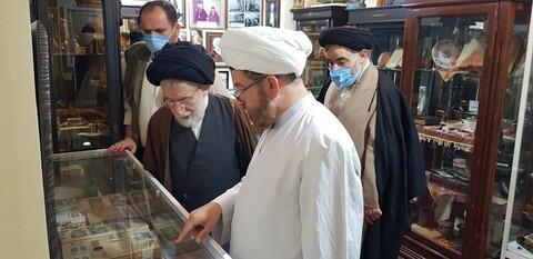 بازدید آیت الله شفیعی از مدرسه علمیه و موزه آیت الله انصاری اهواز