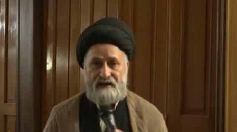 سید جبار المعموری رئیس اتحادیه علمای مسلمان عراق