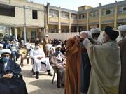 عمامهگذاری طلاب مدرسه علمیه جامع موسی بن جعفر(ع) بهبهان