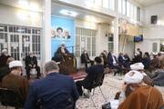 جشن عید مبعث در بیت مرحوم آیتالله العظمی فاضل لنکرانی برگزار شد