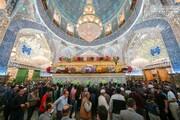 تصاویر/حال و هوای حرم حضرت امیرالمومنین(ع) در ایام عید مبعث