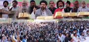 لکھنؤ؛ وسیم رضوی کی شیطانی و دہشت گردانہ حرکت کے خلاف شیعہ و سنّی علماء کا زبردست احتجاج، سرکار کو گرفتاری کے لیے میمورنڈم کیا ارسال