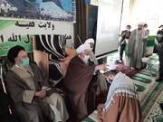 طلاب مدرسه امام حسن مجتبی(ع) استان زنجان معمم شدند