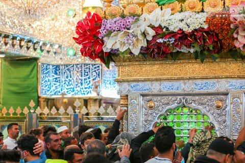 حال و هوای حرم حضرت امیرالمومنین(ع) در ایام عید مبعث
