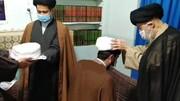 تصاویر/ مراسم عمامه گذاری جمعی از طلاب مدرسه شهید صدوقی واحد ۲ توسط حضرت آیت الله علوی گرگانی