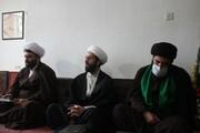 تصاویر/ دیدار مدیر حوزه علمیه کردستان با امام جمعه شهرستان بیجار