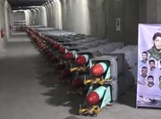 فیلم   رونمایی از شهر جدید موشکی سپاه