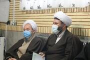 تصاویر/ نشست مشترک مدیر حوزه علمیه کردستان و امام جمعه بیجار