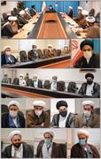 امام جمعه ارومیه دغدغه های نمایندگان طلاب را شنید