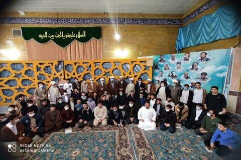 تصاویر/ آئین تجلیل از طلاب برتر علمی و فعالین فرهنگی در مدرسه علمیه امامخمینی(ره) کرمانشاه