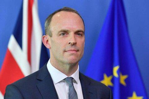 """""""دومینیک راب"""" وزیر امورخارجه انگلیس"""
