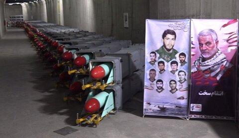 مدينة صاروخية ايرانية جديدة تحت الارض