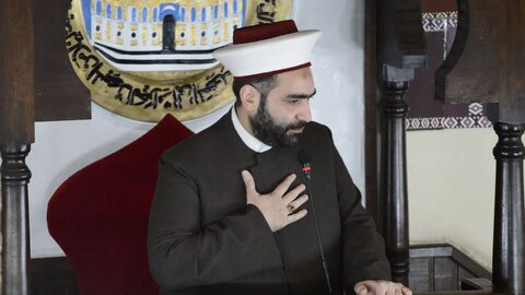"""شیخ احمد قطان رئیس جمعیت """"قولنا و العمل"""" لبنان"""