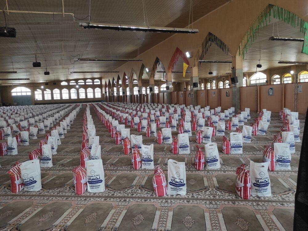 اجرای مرحله پنجم رزمایش احسان و همدلی در کهگیلویه و بویراحمد / توزیع ۸ هزار بسته غذایی