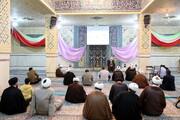 تصاویر/ مراسم تکریم خانواده شهدا و کارکنان جانباز مرکز مدیریت حوزه