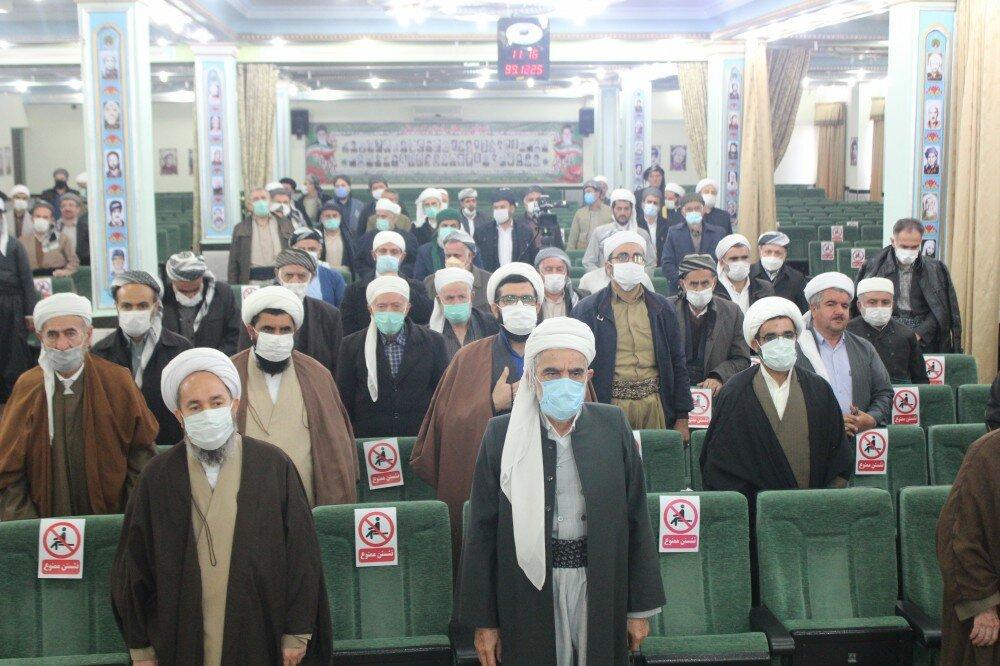 تصاویر/نشست ائمه جمعه استان کردستان