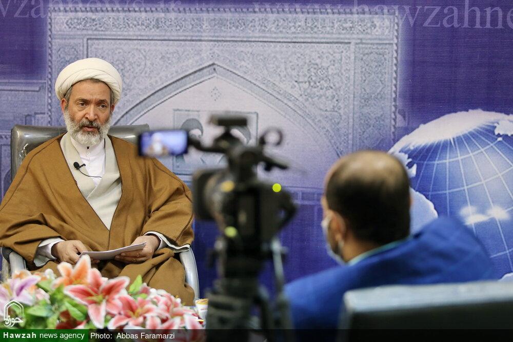 فیلم کامل گفت و گو با مدیر دفتر اجتماعی سیاسی حوزه با موضوع انتخابات ۱۴۰۰