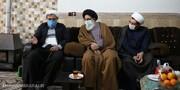 نماینده ولی فقیه در استان البرز به دیدار طلاب جهادی رفت