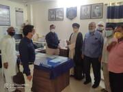 اچل پور میں وسیم رضوی کے خلاف احتجاجی مظاہرہ و پولیسں کمشنر کو گرفتاری کا دیا میمورنڈم