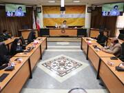 تصاویر/ نشست خبری رئیس دانشگاه ادیان و مذاهب با اصحاب رسانه