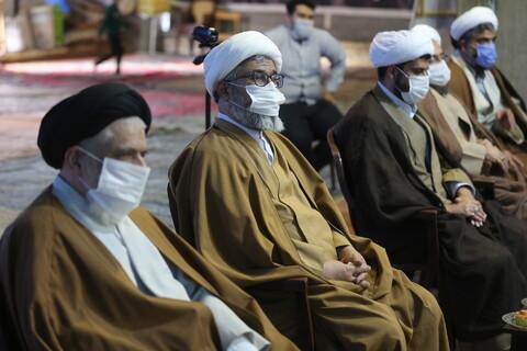 تصاویر/ تجلیل از خادمین ستاد نماز جمعه پردیسان با حضور ائمه جمعه سابق و جدید