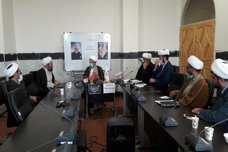 تصاویر/ نشست شورای پژوهش حوزه علمیه استان کرمانشاه