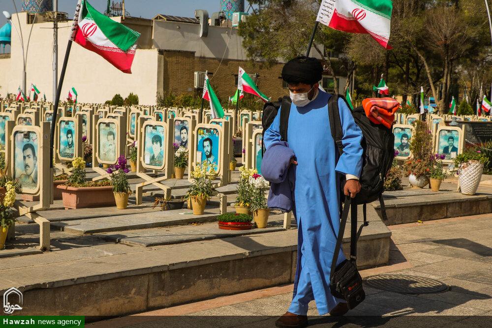 تصاویر/ اعزام طلاب جهادی حوزه علمیه اصفهان به مناطق زلزله زده  سی سخت
