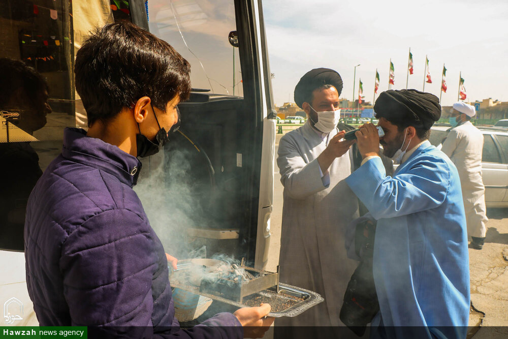 اعزام طلاب جهادی اصفهان به مناطق زلزله زده سی سخت