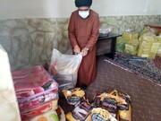 توزیع بسته های عیدانه در مناطق کم برخوردار اطراف یاسوج+ فیلم و عکس