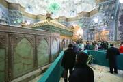 تصاویر / مراسم تحویل سال جدید در حرم حضرت معصومه(س)