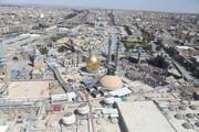 تصاویر هوایی از شهر مقدس قم