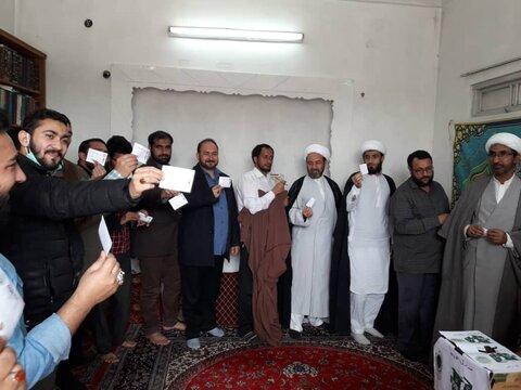 اسلامی تبلیغاتی مرکز گلتری شعبہ قمکے صدارتی انتخابات، افتخار علی وزیریمیر کاروانمنتخب