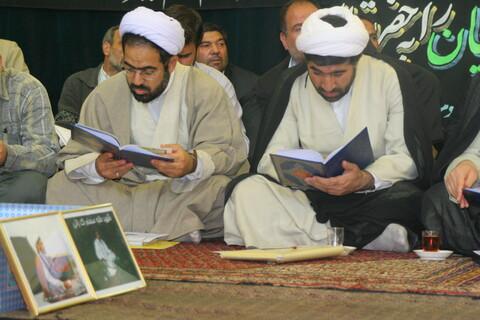 تصاویر آرشیوی از مراسم بزرگداشت شهدای طلبه حادثه تروریستی تاسوکی در فروردین ۱۳۸۵