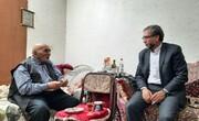 نماینده مردم سمنان در مجلس با خانواده شهید مؤمنیان دیدار کرد + عکس