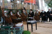 ادای احترام نماینده ولی فقیه در مازندران به آیت الله نظری(ره)