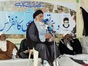 علی کا شیعہ جذبات سے کام نہیں لیتا، مولانا سید ضمیرالحسن