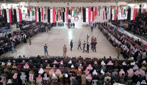 العشائر والقبائل السورية ترص الصفوف لطرد الاحتلال