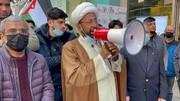 نیویارک میں کمزور قوتوں اور ممالک پر بمباری و جنگوں اور سینکشنز کے خلاف احتجاجی ریلی
