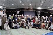 تصاویر/ دیدار نوروزی جمعی از مبلغین همدان