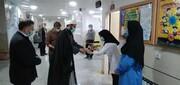 تقدیر امام جمعه لالجین از خدمات کادر درمان